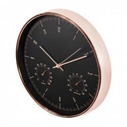 Zlaté nástenné hodiny 30 cm...